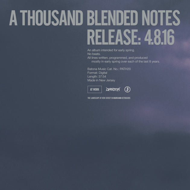 At Work - A Thousand Blended Notes