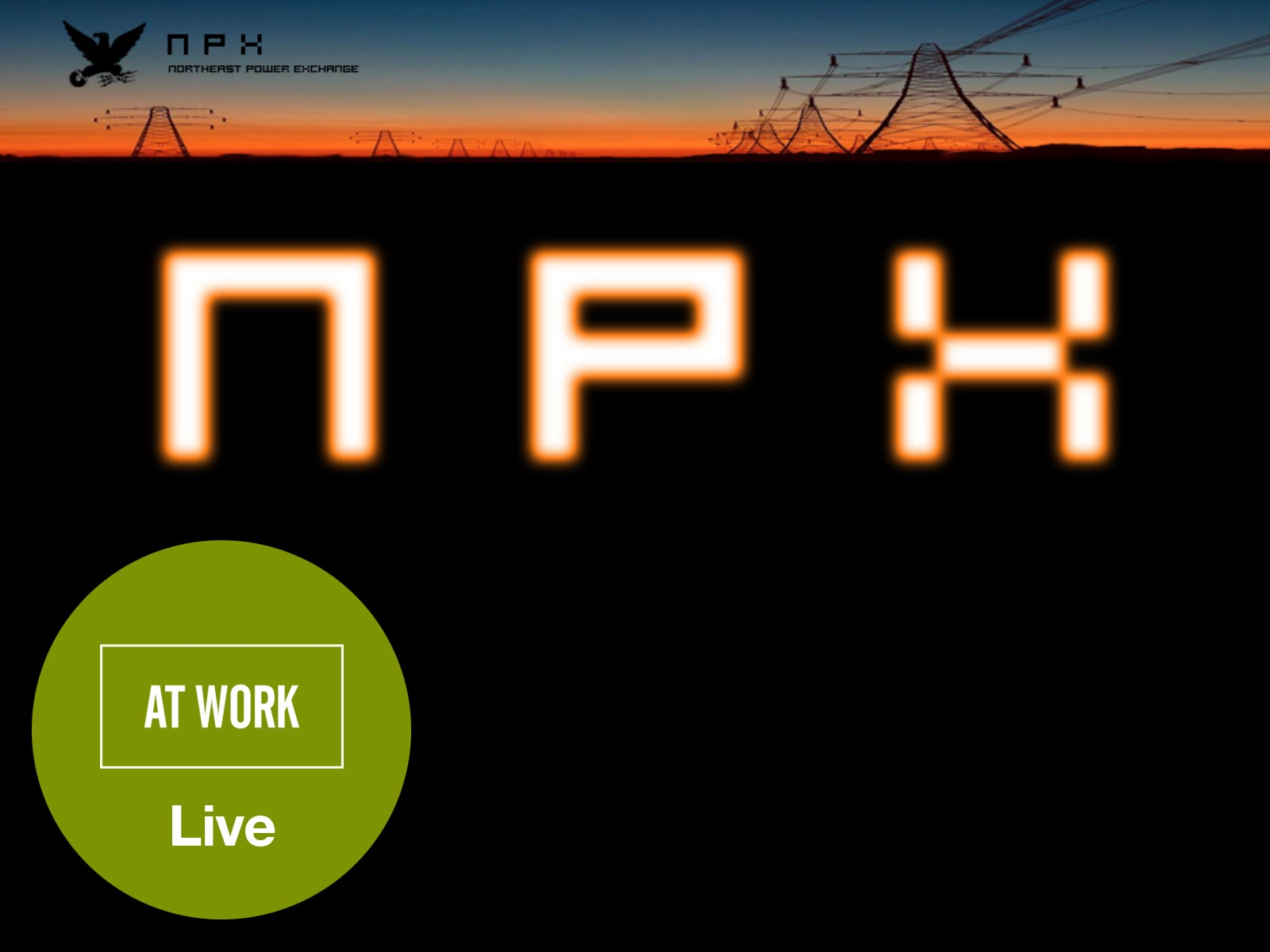 See At Work live at NPX in Philadelphia