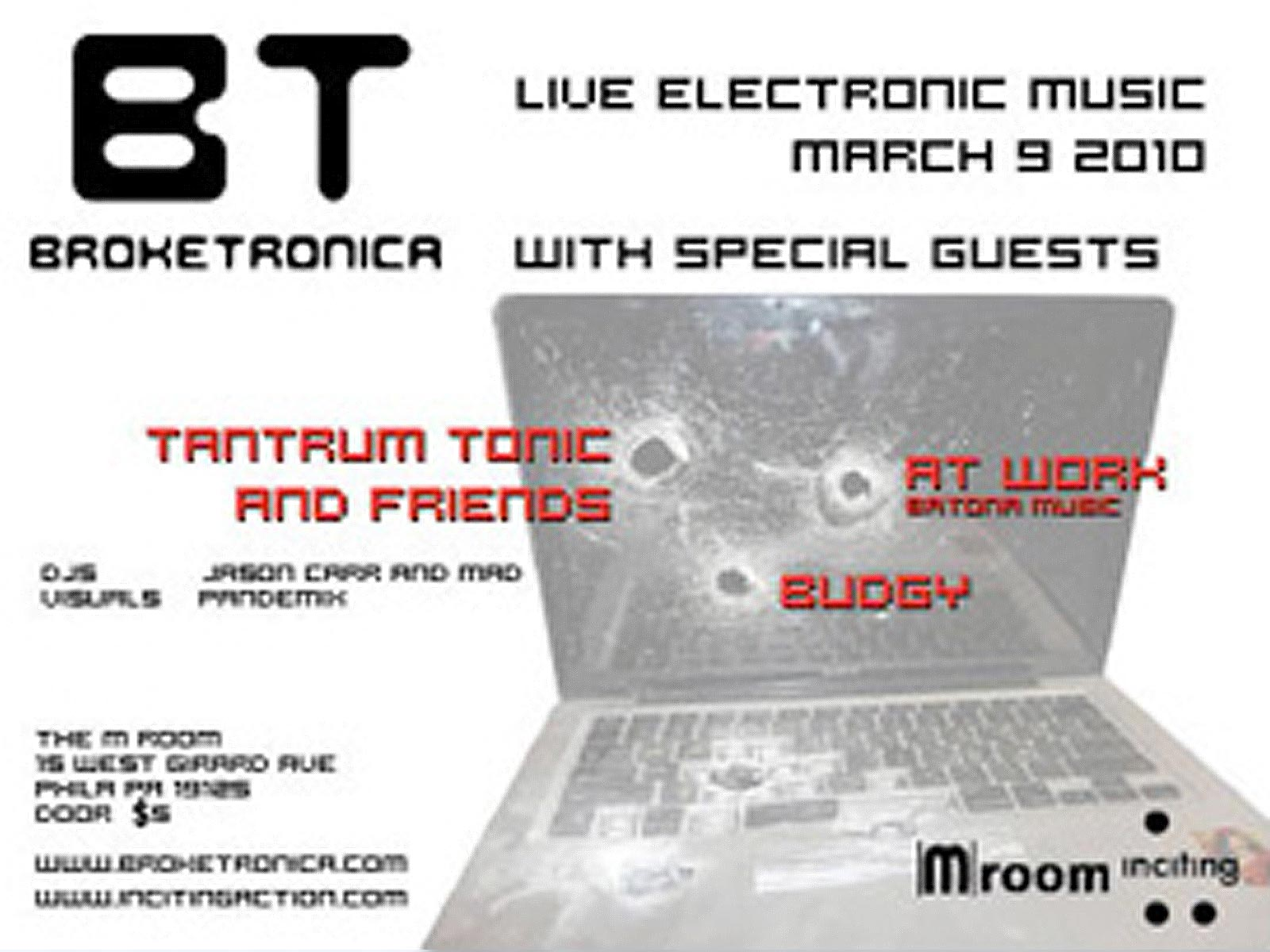 At Work Live at Broketronica