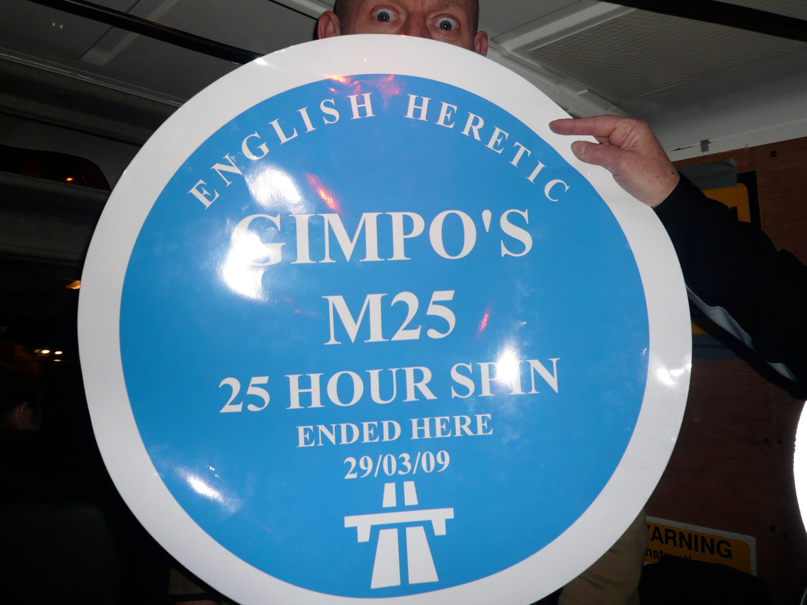 See Gimpo's M25 Spin Documentary at Portobello Film Festival