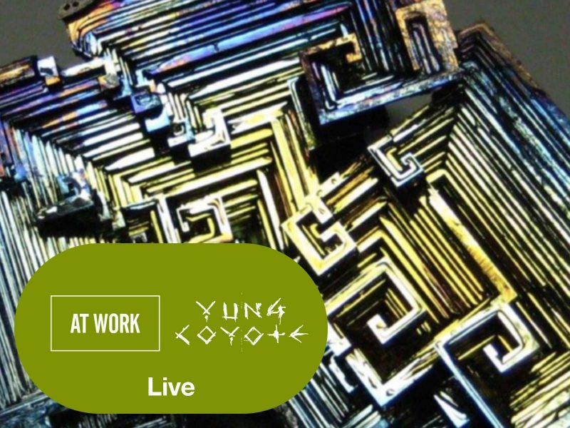 See At Work live with Achievement,  Beat Addictx, Yung Coyote, Sam Was, Fraktal Fingerz, Stingray Bob on April 12 Atlantic City
