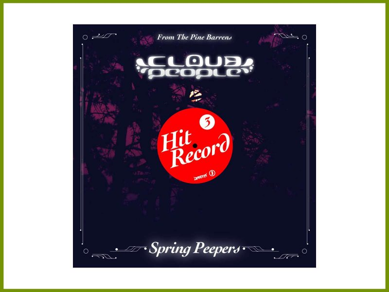 "Hear Cloud People's 3rd Hit Record field recording, ""Spring Peepers"""