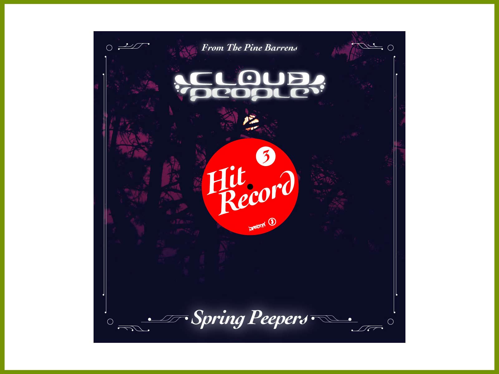 """Hear Cloud People's 3rd Hit Record field recording, """"Spring Peepers"""""""