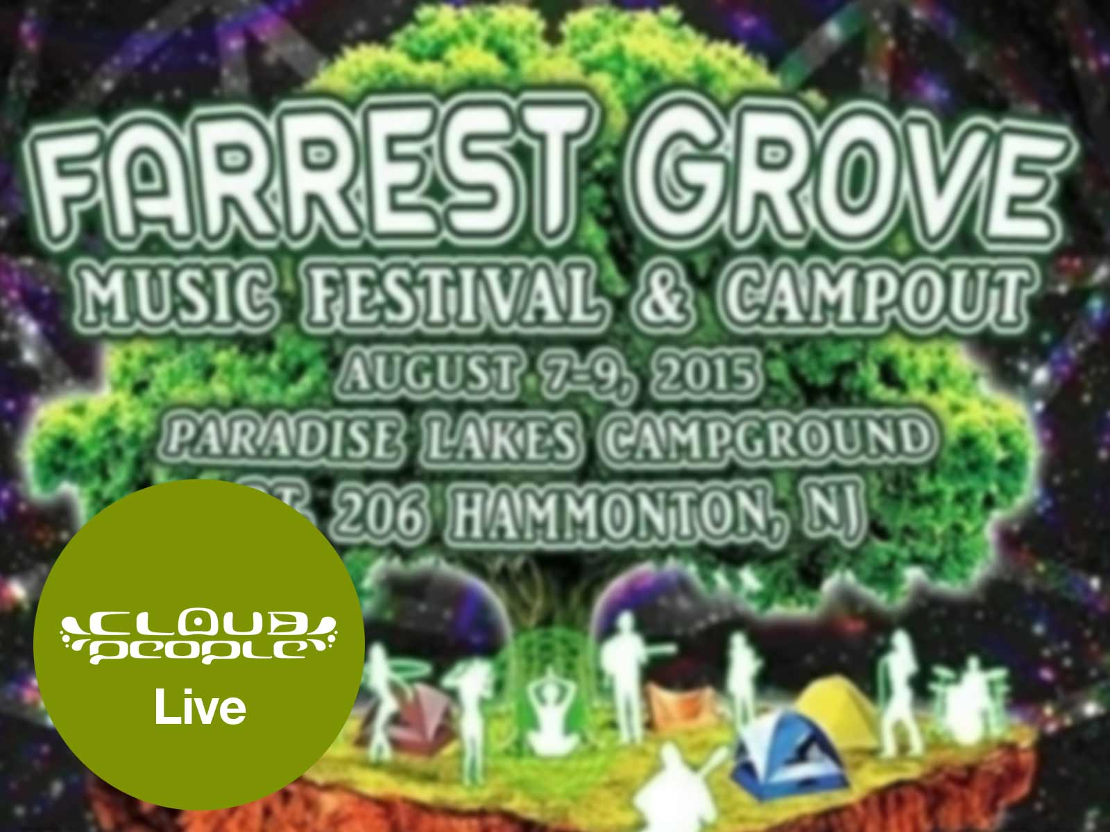 See Cloud People live in the pines at Farrest Grove Music Festival & Campout
