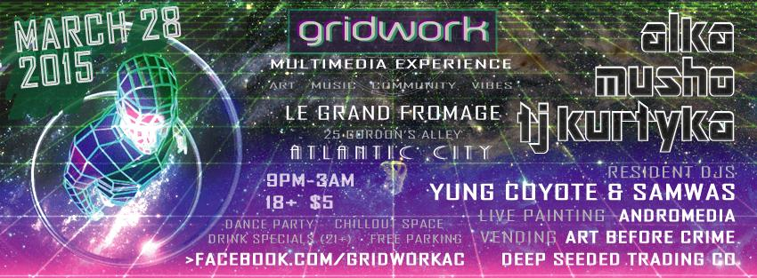 Alka live at Gridwork AC