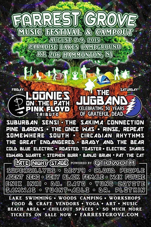 Cloud People Live at Farrest Grove Festival