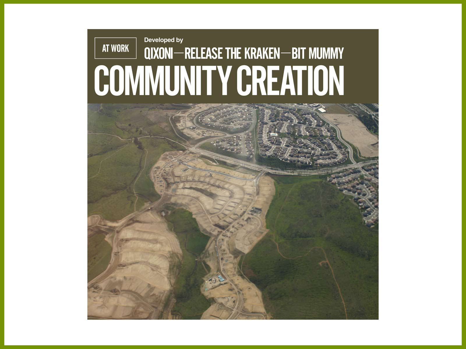 "New At Work EP out now – ""Community Creation"""