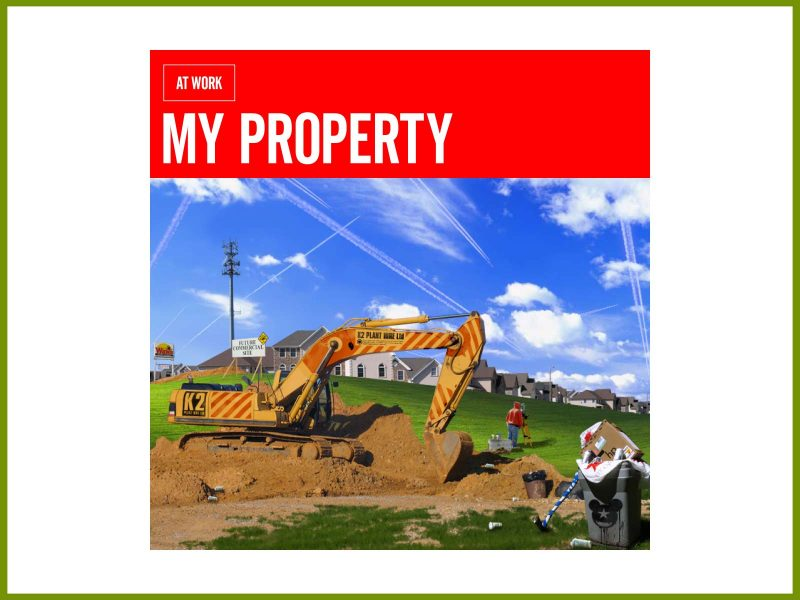 "Download the new EP: At Work gives away ""My Property"""