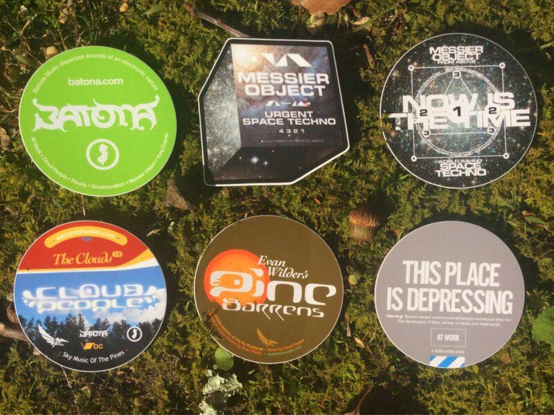 Merch: various sticker packs